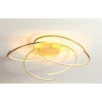 Escale SPACE Plafoniera LED Oro, 1-Luce