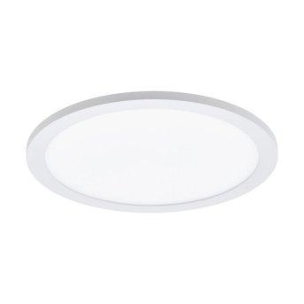 Plafoniera Eglo CONNECT SARSINA-C LED Bianco, 1-Luce, Telecomando, Cambia colore