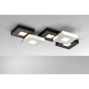 Bopp CUBUS Plafoniera LED Nero, Bianco, 5-Luci