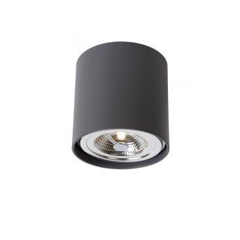 Lucide DIALO-LED Faretto Nero, 1-Luce