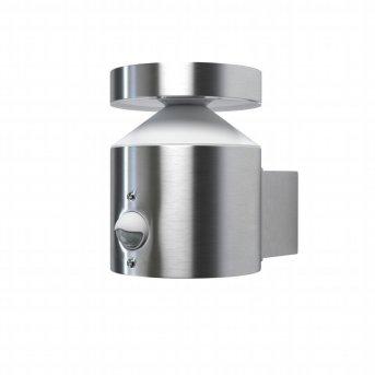 LEDVANCE ENDURA Applique da esterno Acciaio inox, 1-Luce, Sensori di movimento