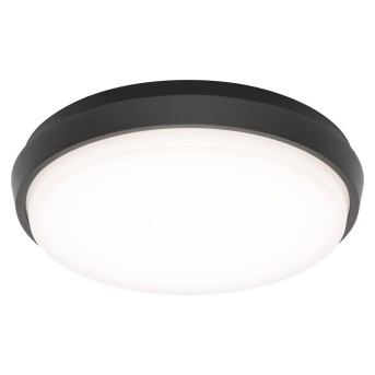 Plafoniera da esterno LCD TYP 5066 LED Nero, 1-Luce