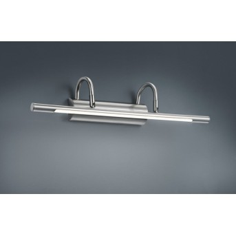 Trio 2252 Applique LED Nichel opaco, Cromo, 1-Luce