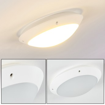 Grafton Plafoniera da esterno Bianco, 1-Luce