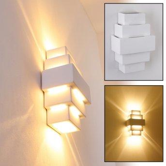 Tokio Applique Bianco, 1-Luce