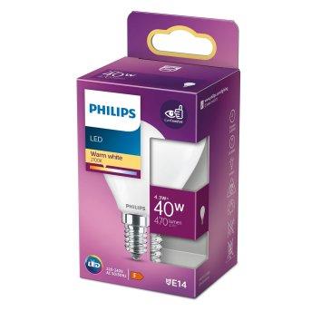 Philips LED E14 4,3 Watt 2700 Kelvin 470 Lumen