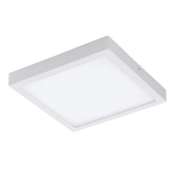 Eglo FUEVA-C Plafoniera LED Bianco, 1-Luce, Cambia colore