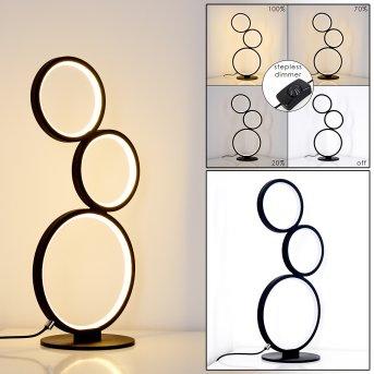 Rodekro Lampada da Tavolo LED Nero, 1-Luce