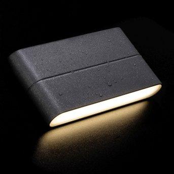 AEG TELESTO Applique per esterno LED Antracite, 1-Luce