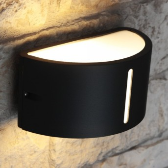 Lutec BONN Applique per esterno Antracite, 1-Luce