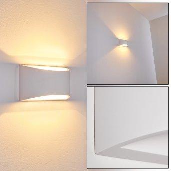 Patea Applique Bianco, 1-Luce