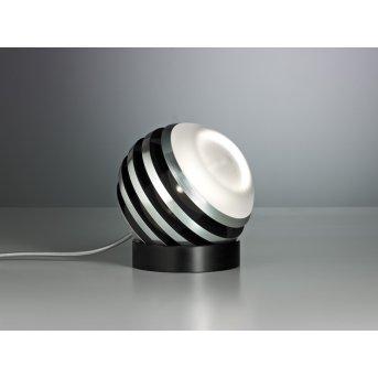 Tecnolumen Bulo Lampada da tavolo LED Nero, 1-Luce