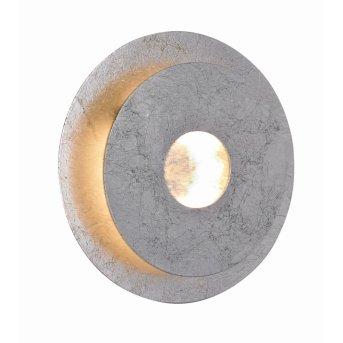 WOFI AFIR Applique LED Argento, 1-Luce