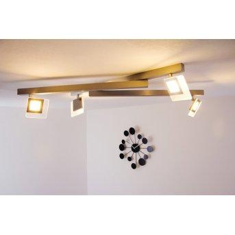 Bopp LINE Plafoniera LED Alluminio, 4-Luci