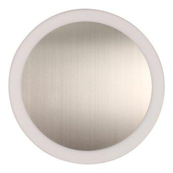 Lutec MOON Applique Argento, 1-Luce
