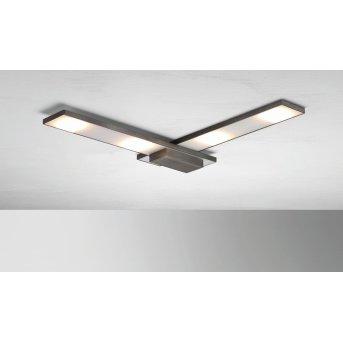BOPP SLIGHT Plafoniera LED Antracite, 4-Luci