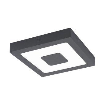 Eglo IPHIAS Plafoniera LED Antracite, 1-Luce