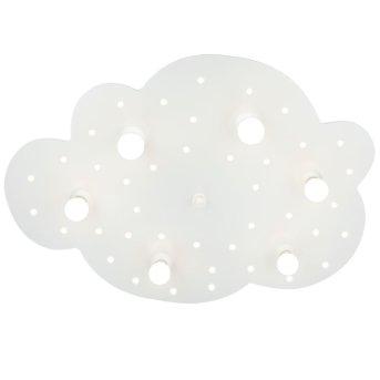 Elobra WOLKE Applique Bianco, 6-Luci