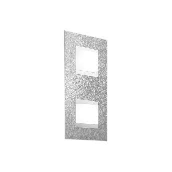 Grossmann BASIC Plafoniera LED Alluminio, 2-Luci