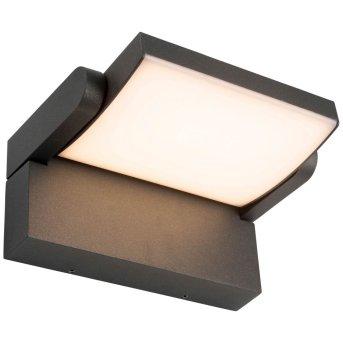 AEG Grady Applique da esterno LED Antracite, 1-Luce