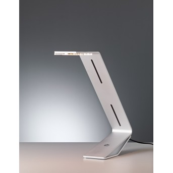 Tecnolumen Flad Lampada da tavolo LED Grigio, Argento, 1-Luce