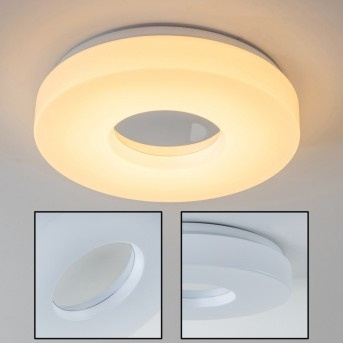Loris Plafoniera LED Bianco, 1-Luce