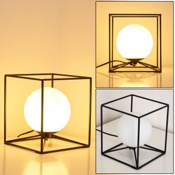 Legano Lampada da Tavolo Nero, 1-Luce