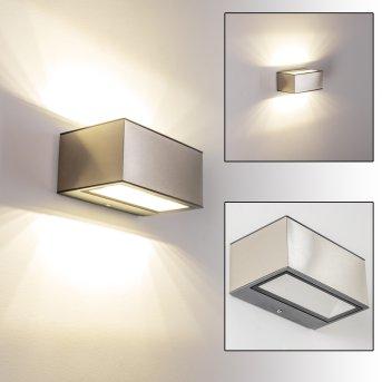Spider Applique da esterno LED Acciaio inox, 1-Luce