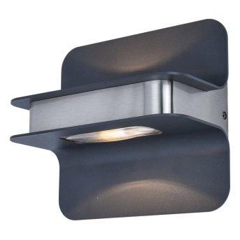 Lutec HILL Applique da esterno Acciaio inox, 1-Luce