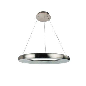 WOFI CLINT Lampada a Sospensione LED Nichel opaco, 1-Luce, Telecomando