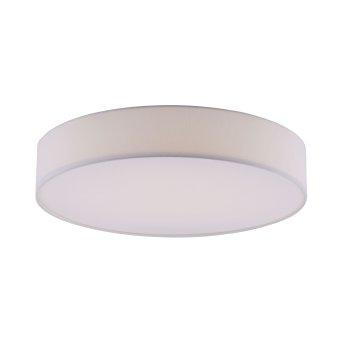 Leuchten Direkt Ls-KIARA Plafoniera LED Bianco, 1-Luce, Telecomando, Cambia colore