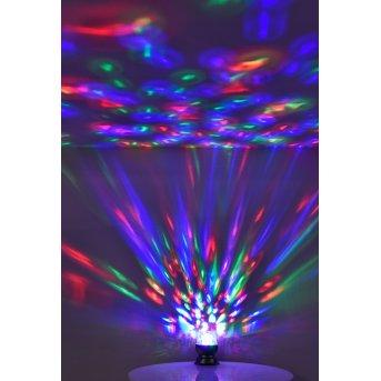Leuchten Direkt DISCO Lampada da Tavolo LED Nero, 1-Luce, Cambia colore