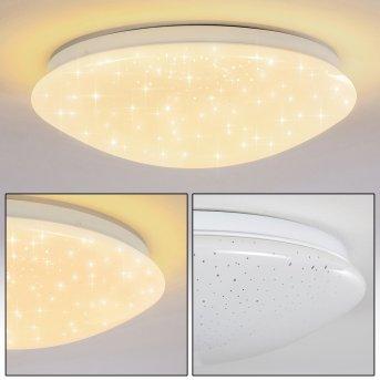 Norton Star Plafoniera LED Bianco, 1-Luce