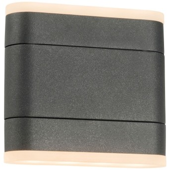 AEG Corry Applique da esterno LED Antracite, 2-Luci