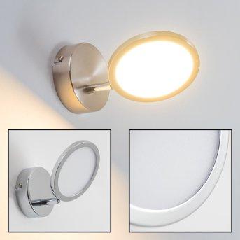 Alberton Applique LED Marrone chiaro, 1-Luce