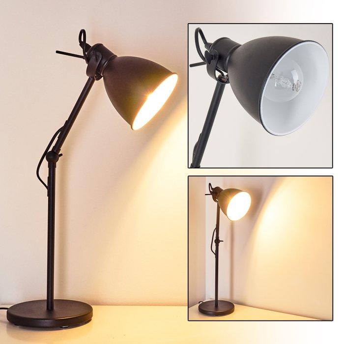 Timola Lampada Da Tavolo Nero H3161494 Do1 Lampada It