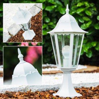 Lampada con piedistallo Bianco, 1-Luce