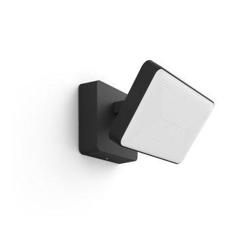 Philips Hue Ambiance White & Color Discover Proiettore LED Nero, 1-Luce, Cambia colore