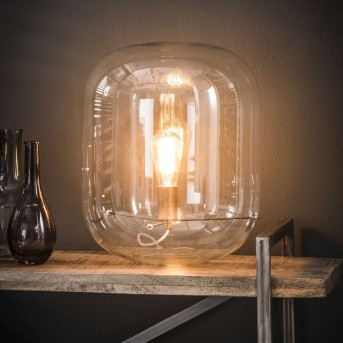 Luttelgeest Lampada da Tavolo Trasparente, chiaro, 1-Luce