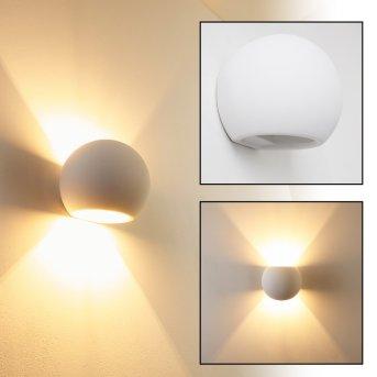 Flot Applique Bianco, 1-Luce