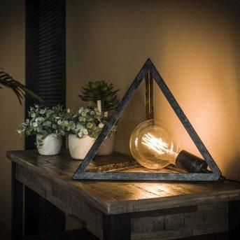 Haskerland Lampada da Tavolo Antracite, 1-Luce