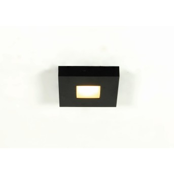Bopp Cubus Plafoniera LED Nero, 1-Luce