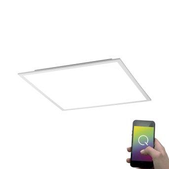 Plafoniera Paul Neuhaus Q-Flag LED Bianco, 1-Luce, Telecomando