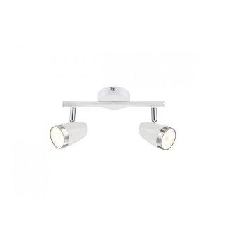 Globo Faretto da soffitto LED Bianco, 2-Luci