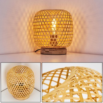 Batumi Lampada da tavolo Marrone, 1-Luce