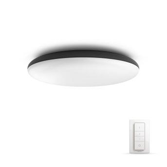 Philips Hue Ambiance White Cher Plafoniera LED Nero, 1-Luce, Telecomando