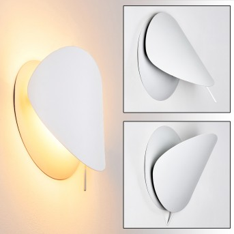 Tikung Applique Bianco, 1-Luce