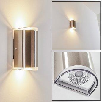 Rumar Applique da esterno LED Acciaio inox, 1-Luce