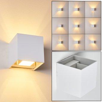 Badajoz Applique LED Bianco, 1-Luce