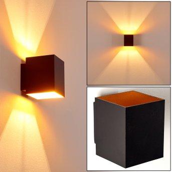 Laforsen Applique Nero-Oro, 1-Luce